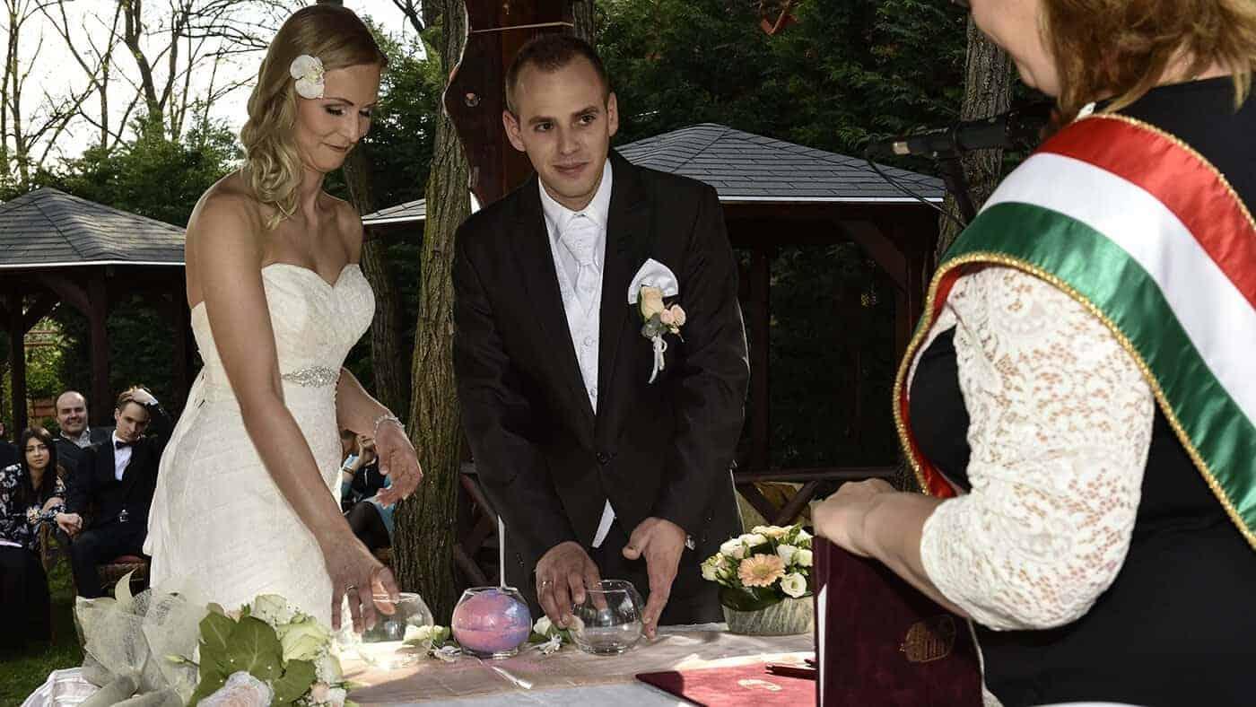 Polgári Esküvő Veresegyházán